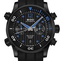 Mido Multifort Chonograph Farbe Schwarz Blau