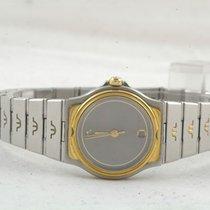 Maurice Lacroix Damen Uhr Stahl/gold 25mm Mit Orig. Stahl Armband