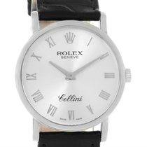 Rolex Cellini Classic 18k White Gold Mechanical Dial Watch 5115