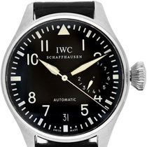 IWC stainless steel Big Pilot 7-Day Power Reserve