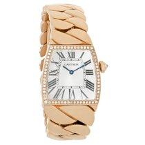 Cartier La Dona Series Ladies 18K Diamond Swiss Quartz Watch...