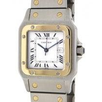 Cartier Santos 2961 Steel, Yellow Gold, 29x41mm
