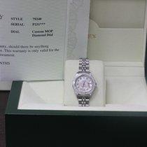 Rolex Ladies Datejust 79240 Steel MOP Diamond Dial & Bezel