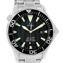 Omega Seamaster Professional 300m Black Dial Steel Watch...