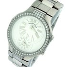 Philip Stein Teslar Dual Time Stainless Steel Mid Size...