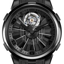 Perrelet Tourbillon Black Dial Automatic Men's Watch