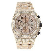 Audemars Piguet Royal Oak Offshore 18K Solid Rose Gold Diamonds