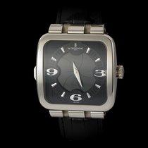 De Grisogono Fuso Quadrato 18K White Gold GMT