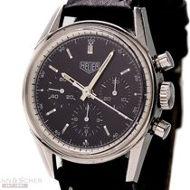 Heuer Carrera Chronograph Re-Edition Ref-CS3111 Stainless...