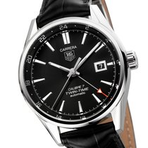 TAG Heuer Carrera Calibre 7 Twin-Time Automatik Herrenuhr WAR2010