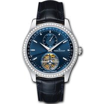 Jaeger-LeCoultre [NEW] Master Tourbillon Blue Dial Q1563580...