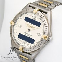 Breitling Chronomat mit UTC Ref.81950 Box & Papiere...