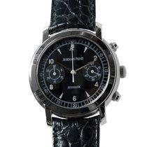 Audemars Piguet New  Jules Audemars Stainless Steel Black...