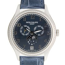 Patek Philippe New  Complications 18k White Gold Blue Automati...