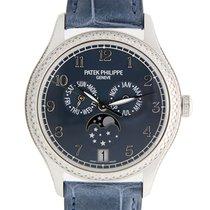 百達翡麗 (Patek Philippe) New  Complications 18k White Gold Blue...