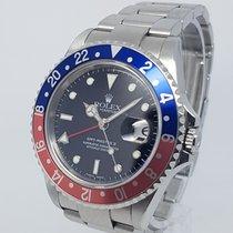 Rolex GMT Master II Pepsi 16710T 40mm Steel Watch 2006 (F)Full...