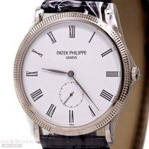 Patek Philippe Calatrava Ref-5196G-001 18k White Gold Box...