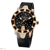 Ulysse Nardin Marine Diver 18K Rose Gold Women's Watch