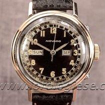 Movado Calendograf Triple Calendar Quantieme Watch Steel &...
