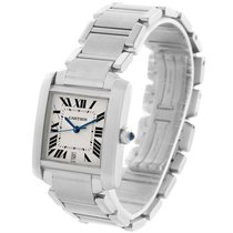 Cartier Tank Francaise Automatic Silver Dial Date Watch W51002q3