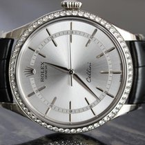Rolex BNIB Cellini 39mm White Gold Factory Diamonds