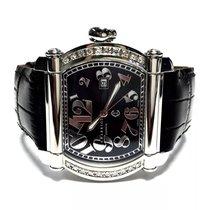Charriol Stainless Steel Luxury Men's Watch W Diamond...