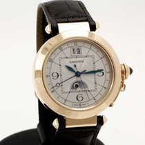 Cartier Pasha 42mm rose gold Night & Day Time Zone...