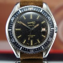 Eberhard & Co. Scafograf 300 Vintage Dive Watch Rare Tropic
