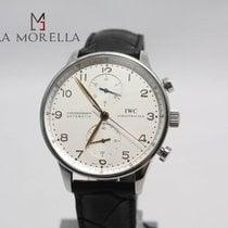 IWC Portuguese Chronograph portoghese full set bianco