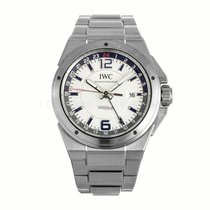 IWC Ingenieur Dual Time White Dial Automatic Watch IW324404...