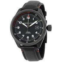 Hamilton Khaki Takeoff Air Zermatt Black Dial Automatic...