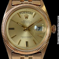 Rolex 6611 18k Rose Gold Day Date President