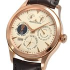 Jaeger-LeCoultre Master Control Beige Dial 18K Pink Gold...
