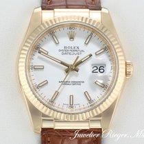 Rolex DATEJUST 116138 GELBGOLD 750 Date Just