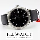 Tudor Style 41mm Silver Dial Leather Strap 12700 R