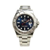 勞力士 (Rolex) Yacht Master Platinum And Steel Blue Automatic...