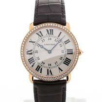 Cartier Ronde 36 18K Gold Automatic