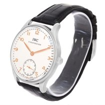 IWC Portuguese Chrono Manual Stainless Steel Mens Watch Iw545408