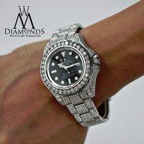 Rolex Iced Out Diamond Rolex Deepsea Dweller 116660 Completely...