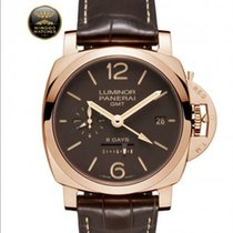 Panerai - LUMINOR 1950 8 DAYS GMT ORO ROSSO - 44MM