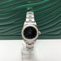 Rolex OYSTER 76094 AUTOMATIC BLACK DIAL WATCH - YEAR 2000