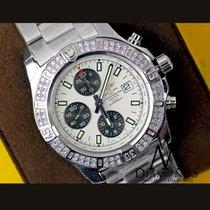 Breitling Diamond Breitling Colt Chronograph Stratus Silver...