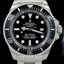 Rolex Sea-dweller Deepsea 116660 Oyster Ss Ceramic Bezel Watch...