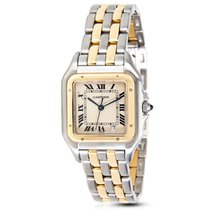 Cartier Panthere W25028B6 Unisex Watch in 18K Yellow Gold...