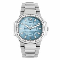 Patek Philippe Nautilus Steel Diamond Ladies Watch 7008/1A-001...