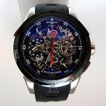 Perrelet Men's Chronograph Split Second Skeleton Watch
