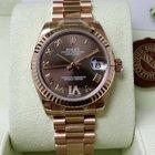 Rolex 18K Everose Pink Gold Datejust Lady 31mm VI Diamond [NEW]