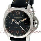Panerai Luminor 1950 3-Days GMT 24H Automatic Acciaio, Black...