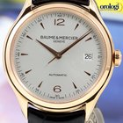 Baume & Mercier Clifton 18K Red Gold 39mm Automatic Mens...
