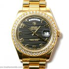 Rolex 218348 President Day-Date 2 II Factory Diamonds BOX/PAPE...
